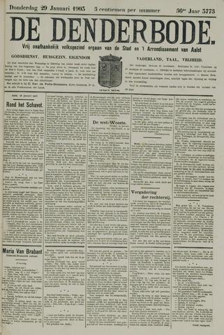 De Denderbode 1903-01-29