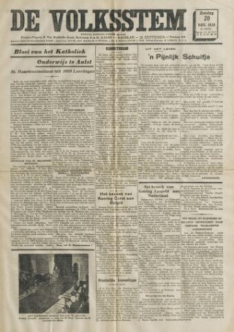 De Volksstem 1938-11-20