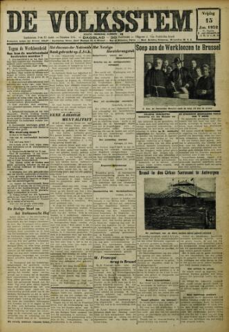 De Volksstem 1932-01-15
