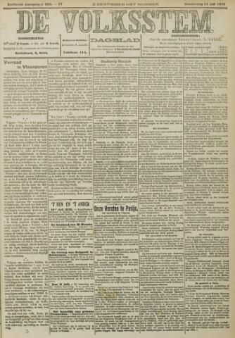 De Volksstem 1910-07-14