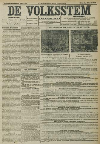 De Volksstem 1910-07-23