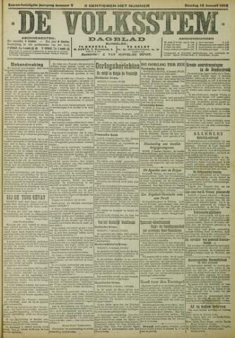 De Volksstem 1915-01-12