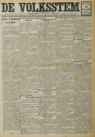 De Volksstem 1926-03-17