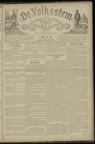 De Volksstem 1895-03-15
