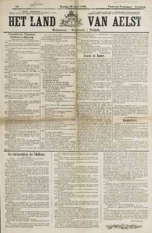 Het Land van Aelst 1881-04-10