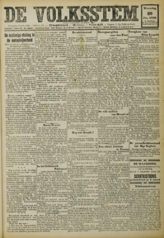 De Volksstem 1926-01-20