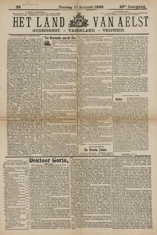Het Land van Aelst 1888-08-12