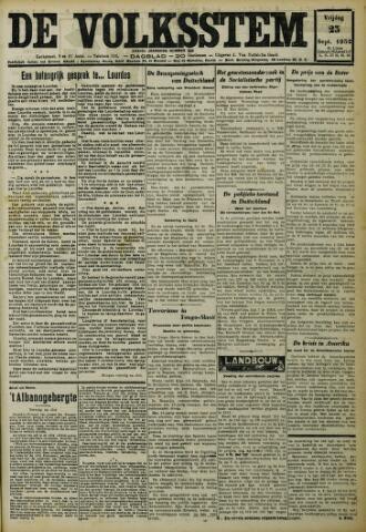 De Volksstem 1932-09-23