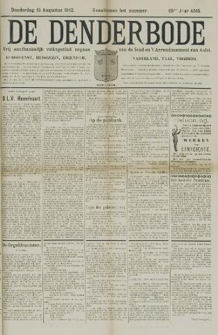 De Denderbode 1912-08-15