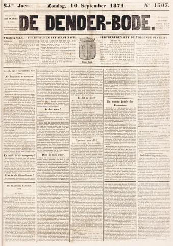 De Denderbode 1871-09-10