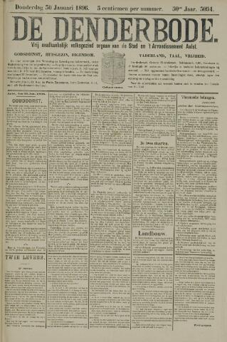 De Denderbode 1896-01-30