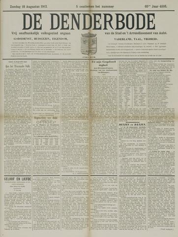 De Denderbode 1912-08-18