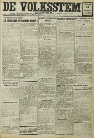 De Volksstem 1932-05-21