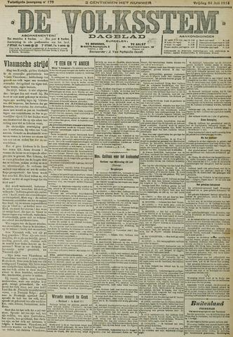 De Volksstem 1914-07-24