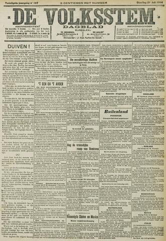 De Volksstem 1914-07-21