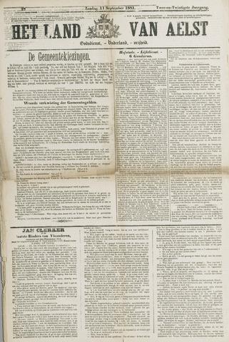 Het Land van Aelst 1881-09-11