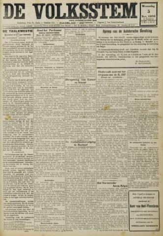 De Volksstem 1930-11-05