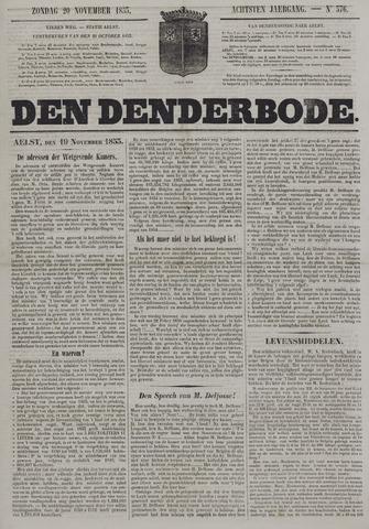 De Denderbode 1853-11-20