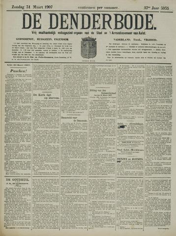 De Denderbode 1907-03-31