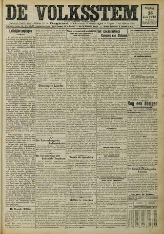 De Volksstem 1926-06-25