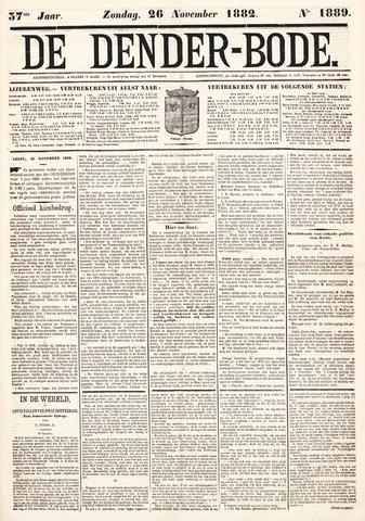 De Denderbode 1882-11-26