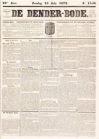 De Denderbode 1872-07-21
