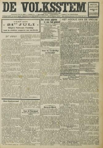 De Volksstem 1931-07-21