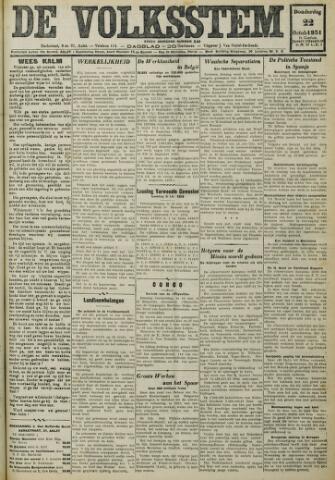 De Volksstem 1931-10-22
