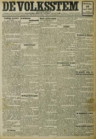 De Volksstem 1923-04-19