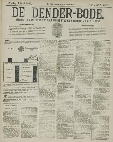 De Denderbode 1890-06-01