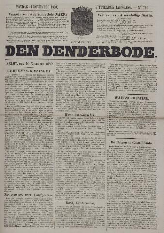 De Denderbode 1860-11-11