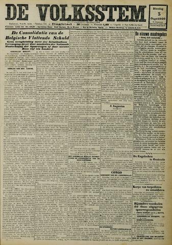 De Volksstem 1926-08-03