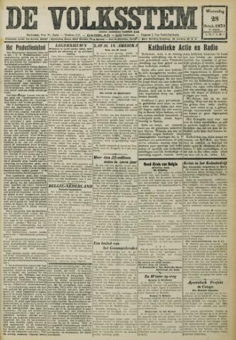 De Volksstem 1931-10-28