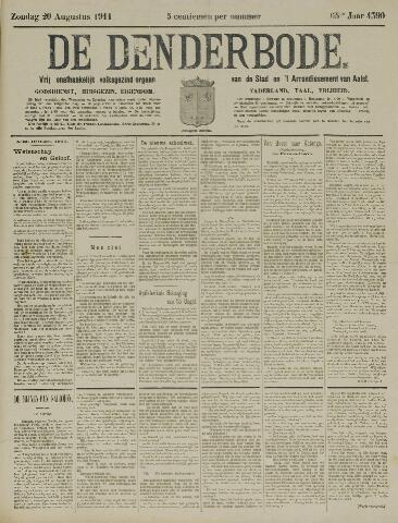 De Denderbode 1911-08-20