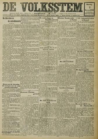 De Volksstem 1926-12-07