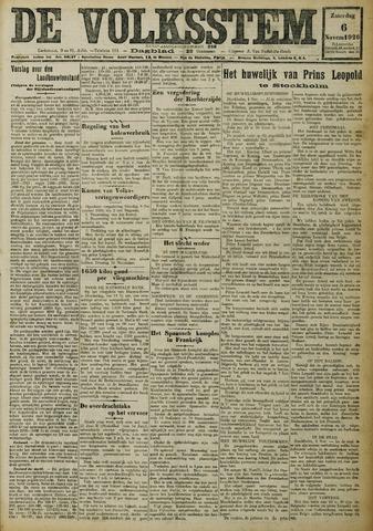 De Volksstem 1926-11-06