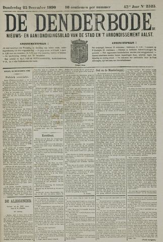 De Denderbode 1890-12-25