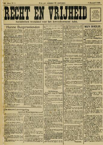 Recht en Vrijheid 1928