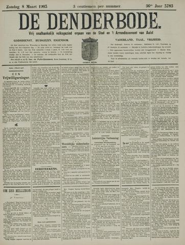 De Denderbode 1903-03-08