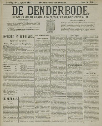 De Denderbode 1893-08-27