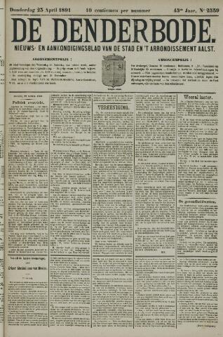 De Denderbode 1891-04-23