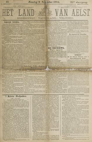 Het Land van Aelst 1884-11-09