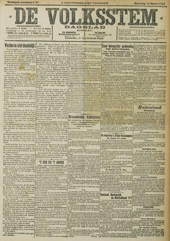 De Volksstem 1914-03-14