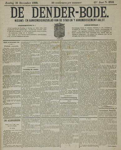 De Denderbode 1890-12-21