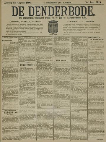 De Denderbode 1896-08-23