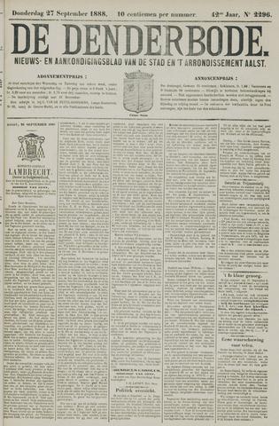 De Denderbode 1888-09-27