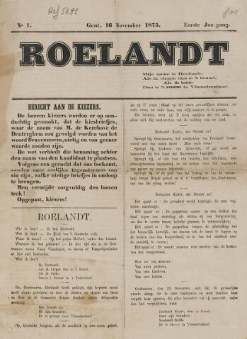 Klokke Roeland 1875