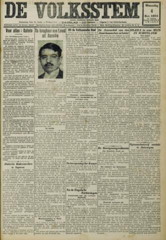 De Volksstem 1931-11-04
