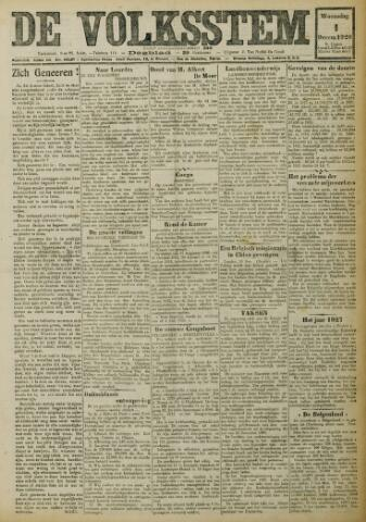 De Volksstem 1926-12-01