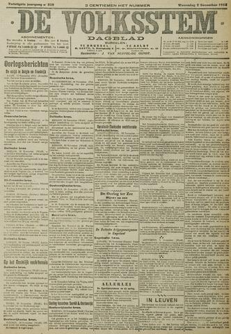 De Volksstem 1914-12-02